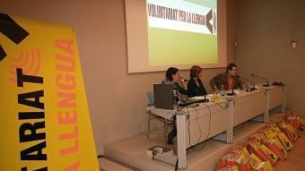 Presentació a Girona del programa de parelles linqüístiques. M.LL