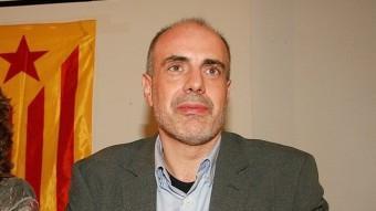 Joan Ridao en un acte electoral aquesta passada campanya MANEL LLADÓ