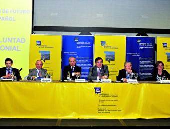 Un dels debats del Congrés Notarial Espanyol, celebrat a Benidorm.