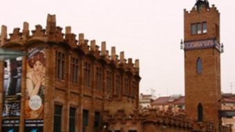 Antiga fàbrica Casaramona, edifici modernista que alberga la seu de Caixa Fòrum Barcelona.  ARXIU