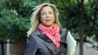 Joana Ortega al Palau de la Generalitat JUANMA RAMOS