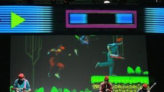 Electrotoylets, ahir en un assaig, en viu i a la pantalla MANEL LLADÓ