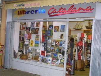 La Llibreria Catalana de la plaça Jean Payra de Perpinyà. J.M. ARTOZOUL