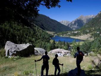 L'estany de la llebreta al Parc Nacional d'Aigüestortes EL PUNTA AVUI/ ARXIU