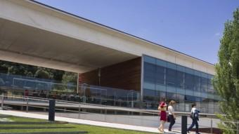 Una imatge del parc científic i tecnològic de Girona. DAVID BORRAT