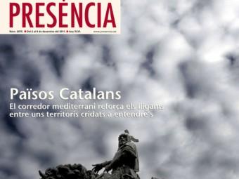La portada de Presència d'avui diumenge.