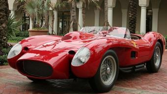 El superlatiu Ferrari 250 Testa Rossa del 1957 és l'obra d'art per excel·lència de Sergio Scaglietti. FEDE GARCIA