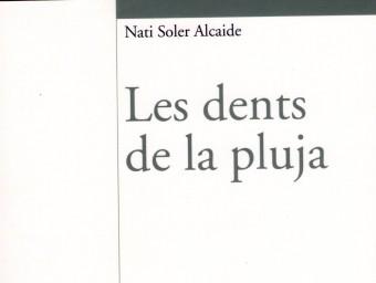 Coberta del llibre de poemes de Nati Soler. ESCORCOLL