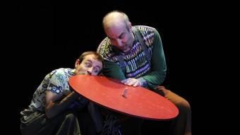 Philippe Leygnac i Patrice Thibaud, en una escena de 'Jungles'. C. MANQUILLET