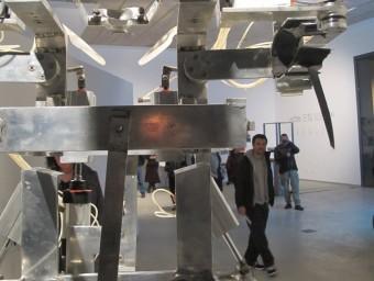 El robot de Marcel·lí Antúnez és una de les instal·lacions més potents de 'Vida 2.0' ARXIU