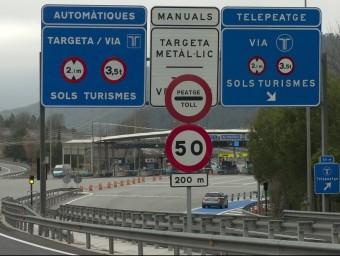 La C-16 entre Terrassa i Manresa és l'autopista més cara de Catalunya ÒSCAR ESPINOSA