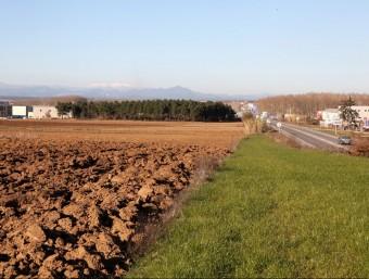 El Pla de Vidrers s'ha salvat fa uns mesos de ser convertit en polígon industrial. JOAN SABATER