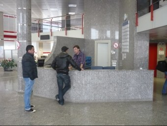 Tresoreria de la Seguretat Social a Girona.  ANNA PUIG