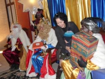 Visita de ses majestats en l'edició de l'any passat. ARXIU