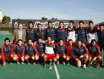 La plantilla del Polo que la temporada passada va guanyar el torneig EL 9