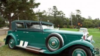 Un model de l'empresa Hispano-Suïssa creada el 1904 també va fer el salt cap als EUA.  ARXIU