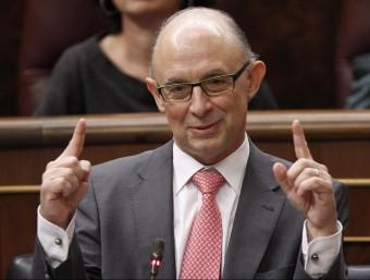 El ministre d'Hisenda, Cristóbal Montoro, es va estrenar pujant l'IRPF.