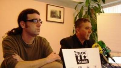 Rafael Climent, en una conferència de premsa a l'ajuntament de Muro. B. SILVESTRE
