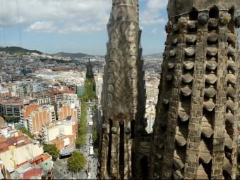 La Sagrada Família, una mostra de l'esperit innovador dels catalans  ARXIU / QUIM PUIG