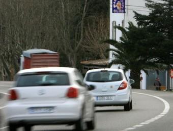 L'accident es va originar a tres quarts de cinc de la matinada, a uns 200 metres del club Gran Madam's MANEL LLADÓ