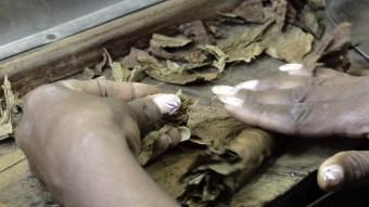 Els catalans van deixar la seva empremta a marques de cigars i rom de Cuba, com ara la de Partagás de la foto.  ARXIU
