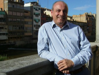Sanllehí és el president del consell comarcal de l'Alt Empordà. M.V
