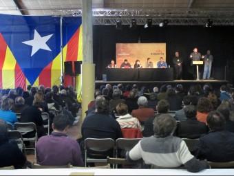 El tercer congrés de la federació regional d'ERC es va celebrar a Porqueres el febrer JORDI NADAL