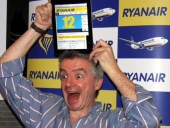 Michael O'leary, president de Ryanair, aquest dimarts a Barcelona ACN