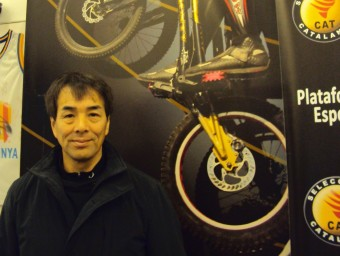 Hiroshi Hirano, president de l'associació internacional. EL 9