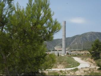 Estació de bombatge de l'Hospitalet de l'Infant, que permet dur l'aigua de l'Ebre al Camp de Tarragona. J. FERNÁNDEZ