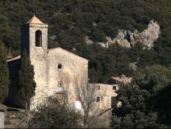 L'església de Sant Martí de Talaixà.  CEO