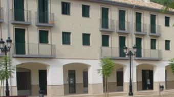 La plaça dedicada a Martí Royo, a Altafulla, en una fotografia d'arxiu MONTSERRAT PLANA