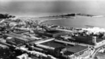 Fàbrica vella de Pirelli de Vilanova i la Geltrú a començament del segle XXI.  ARXIU