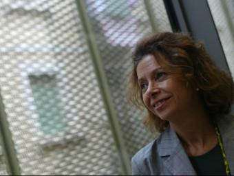 Conxita Oliver va entrar a treballar al departament de Cultura el 1982 QUIM PUIG