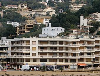 Una imatge de Tossa de Mar, municipi que té una gran població estacional. MANEL LLADÓ