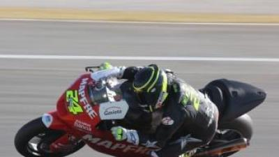 Entrenament de motociclisme al circuit de Xest EL PUNT AVUI
