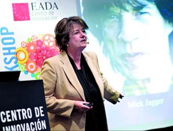 La doctora Shelley Carson en el seu seminari a l'hotel Majestic, a Barcelona, la setmana passada  ARXIU