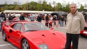 El Ferrari F40 és una de les obres mestres de Materazzi, un gran turisme radical en carretera del que ben aviat se'n van derivar versions de competició. JOSEP CASANOVAS