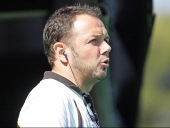 Roger Pallarols entrena l'Atlètic de Terrassa que acaba de guanyar la lliga i ara intentarà el doblet amb la copa del rei EL 9