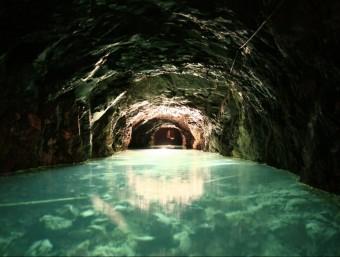 L'espectacular mina de petroli de Riutort, a Guardiola de Berguedà CARME SELLÉS