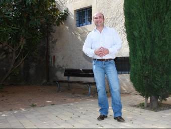 Joaquim Sabrià és l'alcalde de Parlavà. J. PUNTÍ