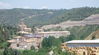 Colònia industrial de Cal Pons, a Puig-reig.  ARXIU / JOAN RUEDA