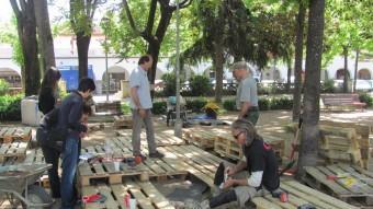 L'estudi F3 Paisaje Arquitectura de quatre noies italianes residents a Barcelona decoraran la plaça Assumpció D.V