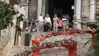 Les escales de Sant Martí. MANEL LLADÓ