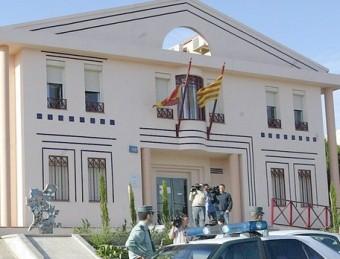 L'edifici dels jutjats de Gandesa, en una imatge d'arxiu JUDITH FERNÁNDEZ