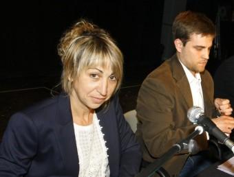 L'exalcaldessa Rut Rosique i l'actual batlle Jordi Camps, l'any passat LLUÍS SERRAT