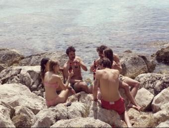 Una imatge del nou anunci d'Estrella Damm, rodat a la Serra de Tramuntana de Mallorca ESTRELLA DAMM