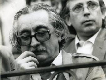 Joan Fuster, durant un homenatge a València el 1981 ROBERT RAMOS/ARXIU AVUI