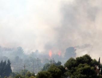 Incendi prop de Canyelles ACN