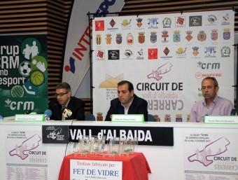 Conferència de premsa de la presentació del circuit. B. SILVESTRE